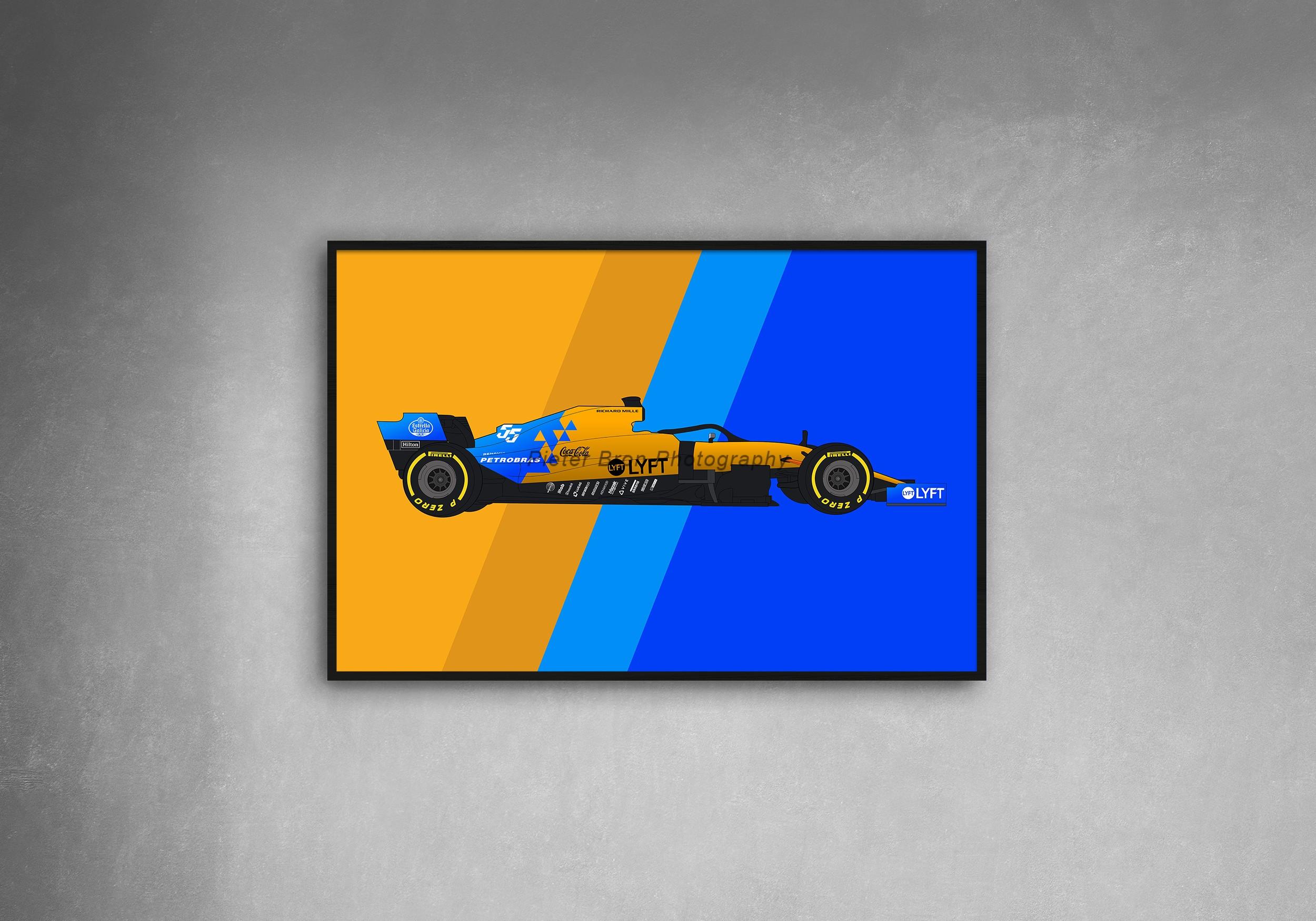 Formula 1 McLaren MCL34
